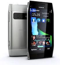 NOKIA X7 3G 8MP GPS WIFI 4.0'' SMARTPHONE SLV STEEL WorldWide Unlocked