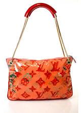 AUTH LOUIS VUITTON RICHARD PRINCE Pink Watercolor Bonbon Banban Pochette Handbag