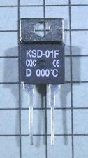 Thermostat: KSD-01F-D000 : 0ºC / 32ºF : N.C. NC:Temperature:BiMetal Switch