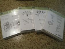 Stampin' Up! Lot of 4 Sympathy Bloom With Hope, Thoughts/Prayer, Simply Sketched