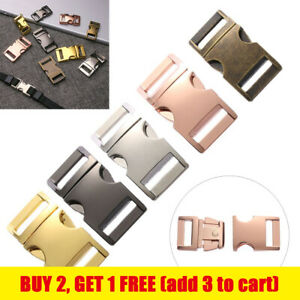 Hardware Part Pets Collar Side Release Buckles Backpack Bags Accessories
