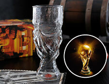 New Hercules  2014 FIFA World Cup Brazil Glass Cup Drink Mug Beer Coffee Water