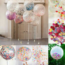 """Clear 32"""" Large Giant wholesale Latex Big Oval Balloon Wedding Party Decoration"""