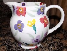 emma bridgewater WALLFLOWER 1 1/2 PINT LARGE JUG    NEW !