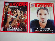 2 x FC Bayern München rivista - 68. annata/stagione 2016 - 2017/CON POSTER