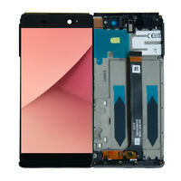 LIT LCD Touch Screen Frame For Sony Xperia C6 XA Ultra F3211 F3212 F3213 Black