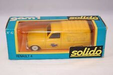 Solido 42 Renault 4 PTT Fourgonette Postes 1:43 mint in box