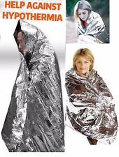 1 Pack Emergency Blanket Survival Solar Heat Rescue Thermal Insulating Mylar US