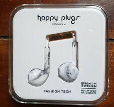 $10 Happy Plugs Earbud+Headphone mic & remote: $10 Gold Fashion Tech Stockholm