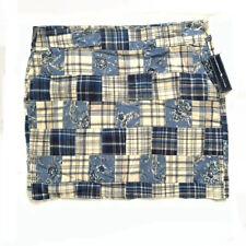 American Living Patchwork Skirt Size 14 New with tags