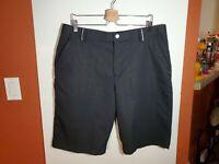 Under Armour Coldblack Golf Casual Walking Shorts Mens 36 Black Polyester