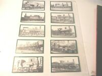 1986 TRAINS  London South Western RAILWAY Locomotive complete trade card set 20
