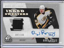 06-07 SP Game Used Brad Boyes Inked Sweaters #d/100