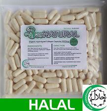 Marine Life Pure Colágeno Hidrolizado halal 1000 MG - 180 cápsulas (1 meses de suministro)