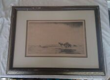 William Douglas Macleod Moray Firth Etching ships in 24 hours!