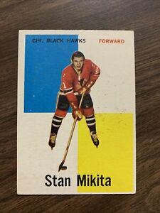 Stan Mikita 1960-61 Rookie Card #14