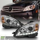 2008-2011 Mercedes Benz C-Class W204 C300 C350 C63 LED DRL Projector Headlights