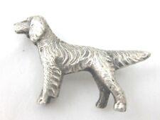 Brooch Marked Silver Solid Silver Golden Retriever