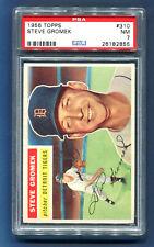 HIGH GRADE 1956 Topps STEVE GROMEK #310, Tigers - PSA 7 (Lowest Price on eBay!)