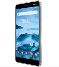 "Nokia 6.1 2018 TA-1050 32GB 5.5"" 16MP Unlocked Smartphone Single SIM White"