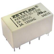 ZETTLER AZ832P2-2C-12DE Relais 12V DC 2xEIN 3A 720R Polarized DIP Relay 855060