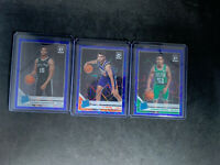 2019-20 Donruss Optic Basketball Blue Velocity Rated Rookie - 6 Card Lot