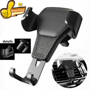 Car Mount Air Vent Phone Holder Cradle Gravity Works With Most Smart Phones