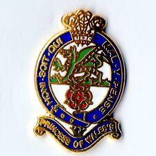 Enamel Lapel Badge Princess of Wales Own Regiment