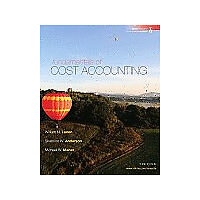 Fundamentals of Cost Accounting, William Lanen, Shannon Anderson, Michael Maher,