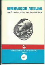 7  numismatic sale catalogs  of World Coins by Bank  Credit Swiss