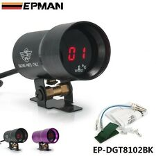 Micro Digital Water Temperature Gauge 37mm Supplied with Sensor +Kit