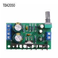 DIY 5W-120W Digital DC 12V-24V TDA2050 1-Channel Module Amplifier Audio