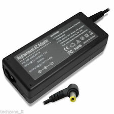 HP/Compaq Laptop Power Adapter Compatible 18.5v3.5A 65W Yellow Pin & Power Cord