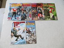 Tom Strong 8 Issue Comic Run 1-8 America'S Best Comics Alan Moore