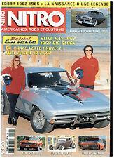 NITRO n°198 Spécial CORVETTE/CHRYSLER WINDSOR DE LUXE SEDAN '55/AMX '69