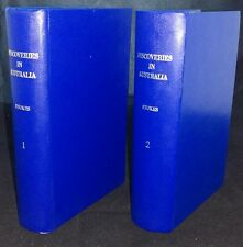 Discoveries in Australia by J. Lort Stokes Vol.s 1 & 2 (HC, 1969) RARE REPRINTS