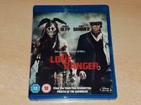 Disney The Lone Ranger Blu Ray 2013 **FREE UK POSTAGE**