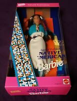 1993 Mattel Native American Barbie Second Edition Dolls of the World Collection