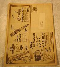 Gateway Sporting Goods Vintage Hunting Fishing Archery Jewelry decoys Catalog