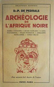 Archéologie de l'Afrique Noire – 1950
