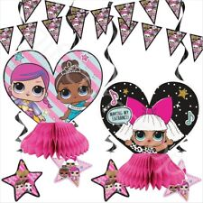 LOL Surprise 7Pc Party Decoration Kit Girls Birthday Bunting Table Decoration