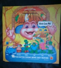 Vintage McDonald's Dno Motion Dinosurs Happy Meal Translight Sign - 1992