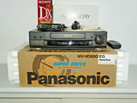 Panasonic NV-HD660 VHS-Videorecorder in OVP w.NEU, FB&BDA, 2 Jahre Garantie