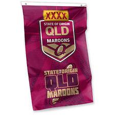 Queensland State Of Origin NRL Team Logo Cape Flag