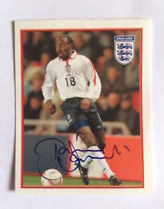 Merlin England Euro 2004 Sticker #31 Darius Vassell
