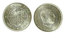 pcc1840_56) SPAGNA Franco Caudillo 1966 - 100 PESETAS 1966 (66)