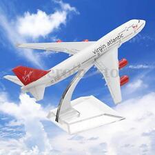 16cm Metal Plane Model Aircraft Diecast Airplane Aeroplane 1 400 Scale Desk Toy B747 Virgin Atlantic
