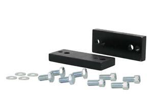 Whiteline Sway Bar Mount Spacer Kit W23673 fits Toyota Fortuner 2.8 D 4x4 (GU...