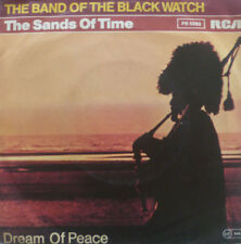 "7"" 1982 RARE IN VG++ ! THE BAND OF THE BLACK WATCH : The Sands Of Time"