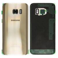 ✅ Samsung Galaxy S7 G930F Akkudeckel Deckel Back Cover GOLD
